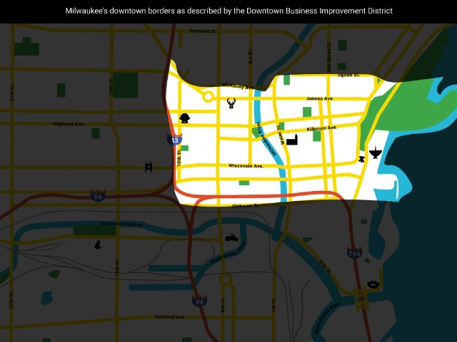 Just where the heck is Downtown Milwaukee anyway? - OnMilwaukee on