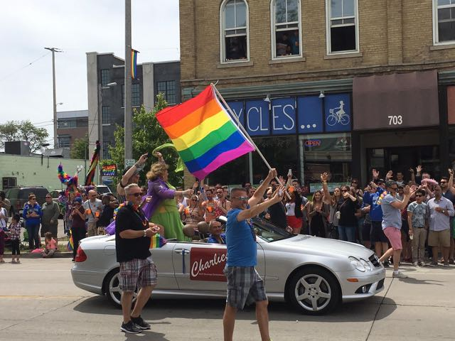12 photos from the Milwaukee Pride Parade - OnMilwaukee