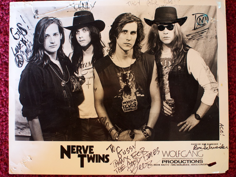 Signed glossy from Nerve Twins.