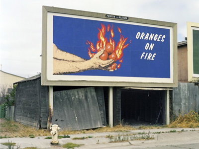 Oranges on Fire