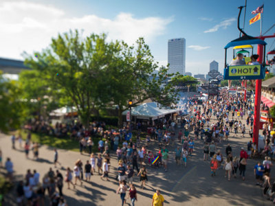 End the week on a high note and get pumped for Summerfest 50