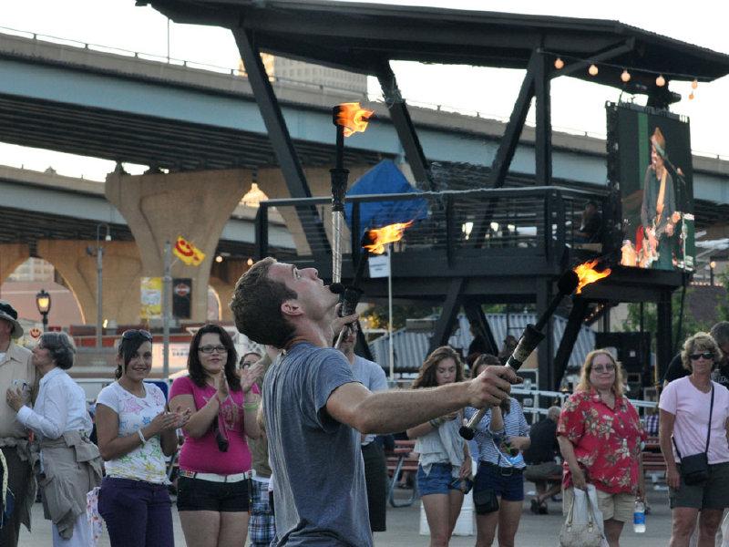 summerfest 2010. heats up at Summerfest .