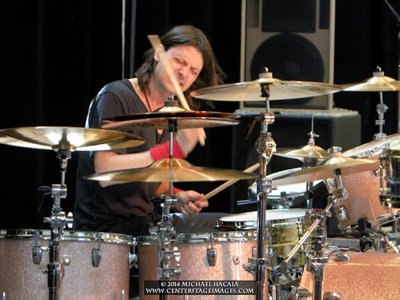 Sutter returns to his second home to share secrets of rock 'n' roll drumming