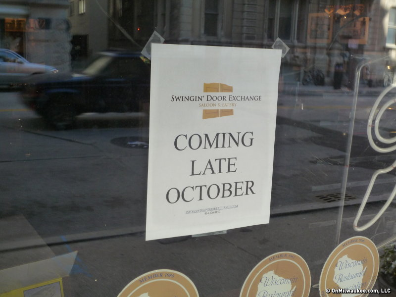 New Owner K.C. Swan Plans To Reopen The Bar As The Swinginu0027 Door Exchange  Later This Fall.
