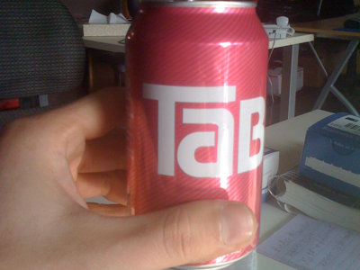 Tab, good to laugh at but not to drink