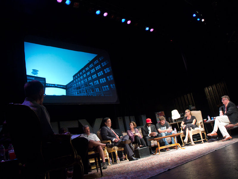 """Envisioning the Scene"" event at The Pabst Theater."