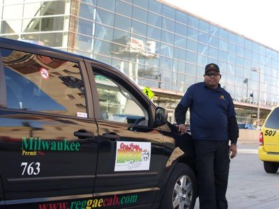 Former cop starts reggae-themed taxi service