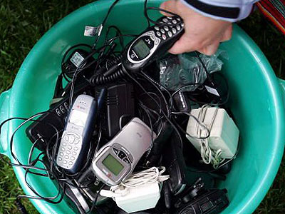 Beyond curbside recycling: What to do with old cells, batteries, even shoes Image