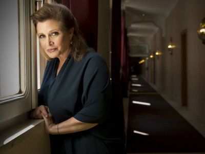 Thank you, Carrie Fisher Image