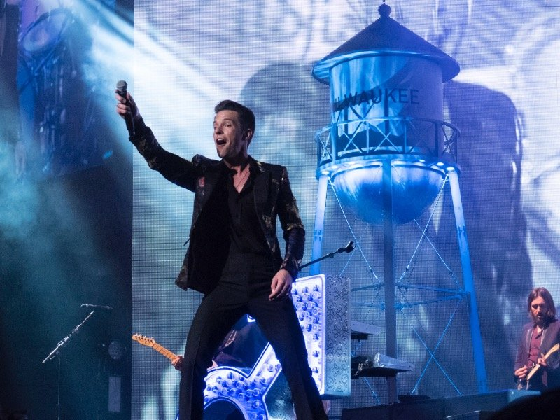 The Killers test the foundation at new Fiserv Forum\'s first concert ...