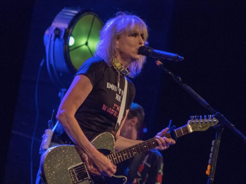 The Pretenders continue living the rock star dream at the