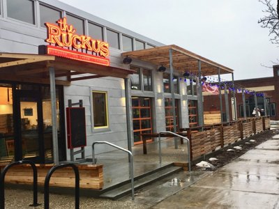 The Ruckus opens this week in Shorewood