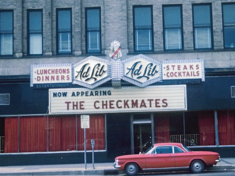Half a century ago, the former Ad Lib was the site of non-stop, go-go drama  for 10 years. (PHOTO: Milwaukee County Historical Society)