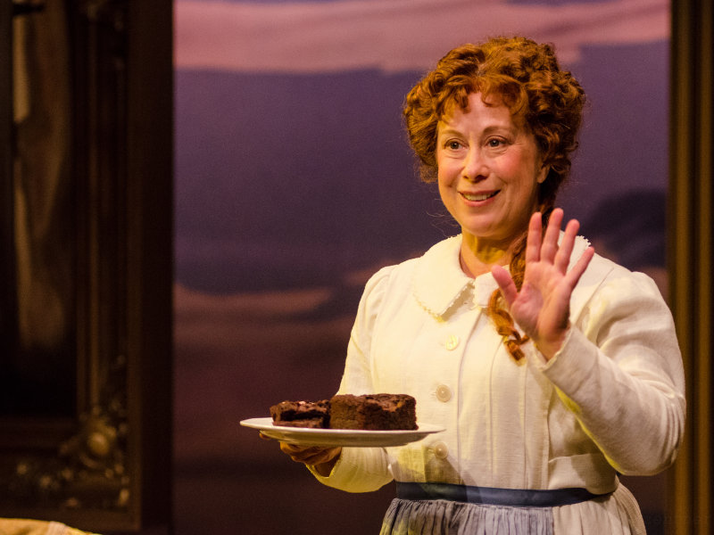 "Jenny Wanasek plays Emily Dickinson in ""The Belle of Amherst"" at Renaissance Theaterworks."