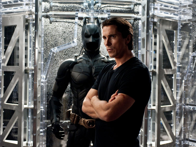 "Christian Bale finishes his three-movie turn as Batman in ""The Dark Knight Rises,"" in theaters now."