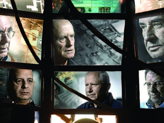 "Director Dror Moreh talks candidly with six former heads of the Shin Bet in ""The Gatekeepers,"" now playing."