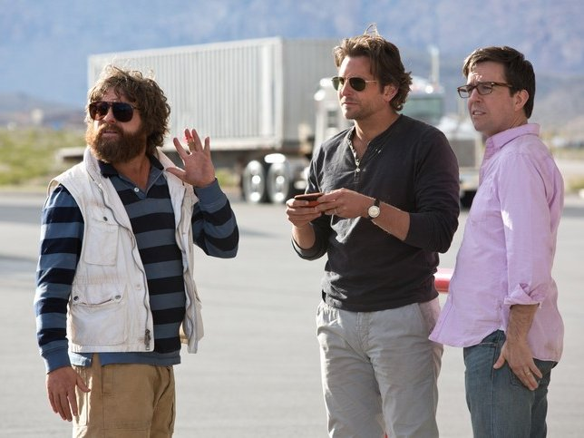 "The Wolfpack is back for the last time (thankfully) in ""The Hangover Part III,"" now playing."