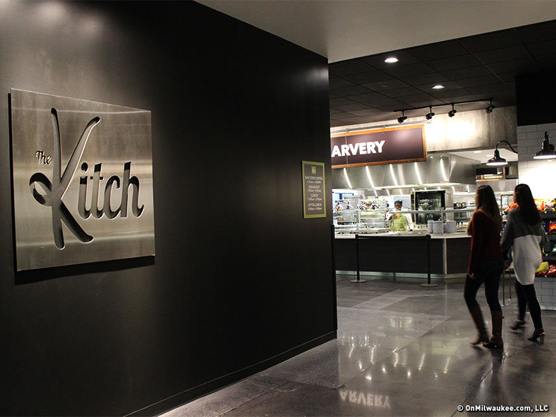 The Kitch offers Kohl's employees a place to gather