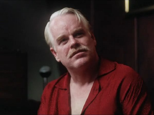 "Philip Seymour Hoffman stars in ""The Master,"" in theaters today."