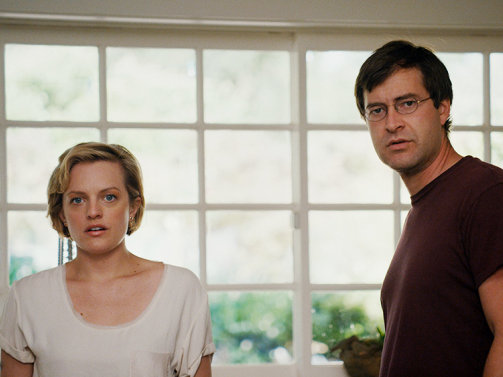 "Elisabeth Moss and Mark Duplass stars in ""The One I Love."""