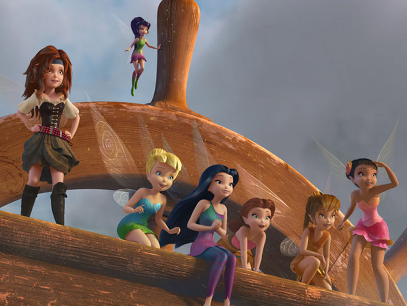 "Disney releases ""The Pirate Fairy"" on Blu-Ray, DVD and digital combo pack on Tuesday."