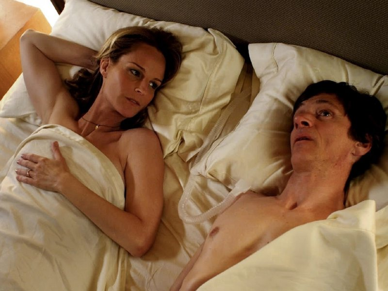 "Helen Hunt and John Hawkes star in ""The Sessions,"" in wide release now."
