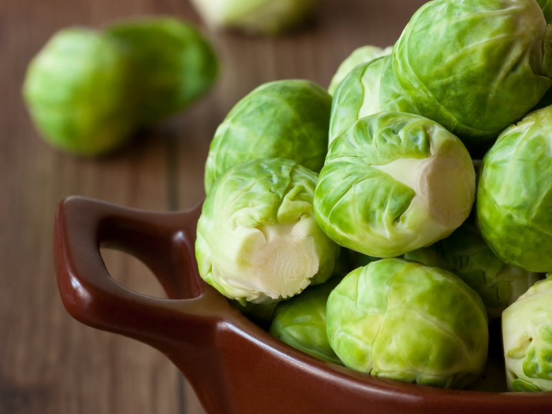Turn Brussels sprouts into a quick and easy side with Chef Thi Cao's recipe.