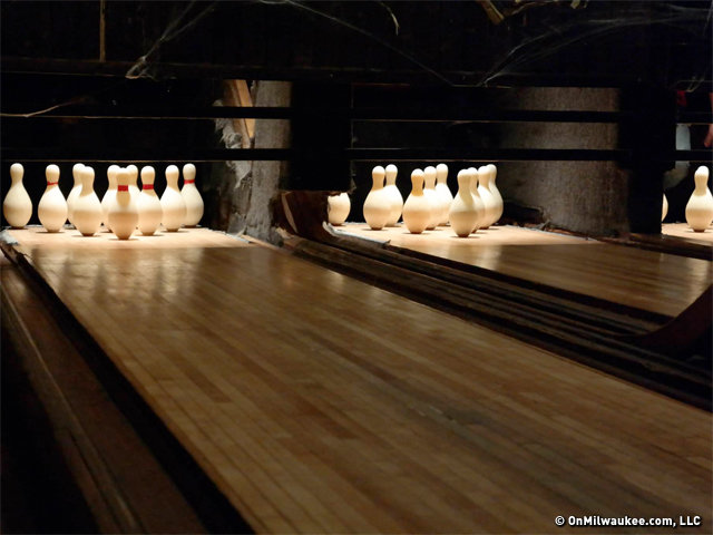 The Thirsty Duck's lanes will be similar to the lanes at Koz's Mini Bowl.