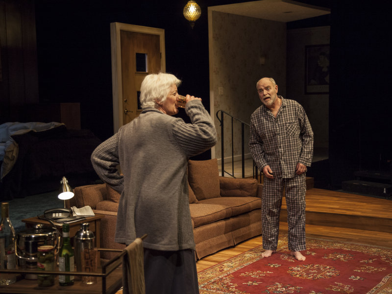 "Laurie Birmingham and James Pickering in ""Three Views of the Same Object,"" now at Next Act Theatre."