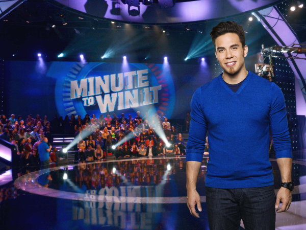 "Apolo Ohno hosts ""Minute To Win It"" on the Game Show Network. Time Warner Cable moved GSN into the channel slot that WTMJ-TV had before the block-out."