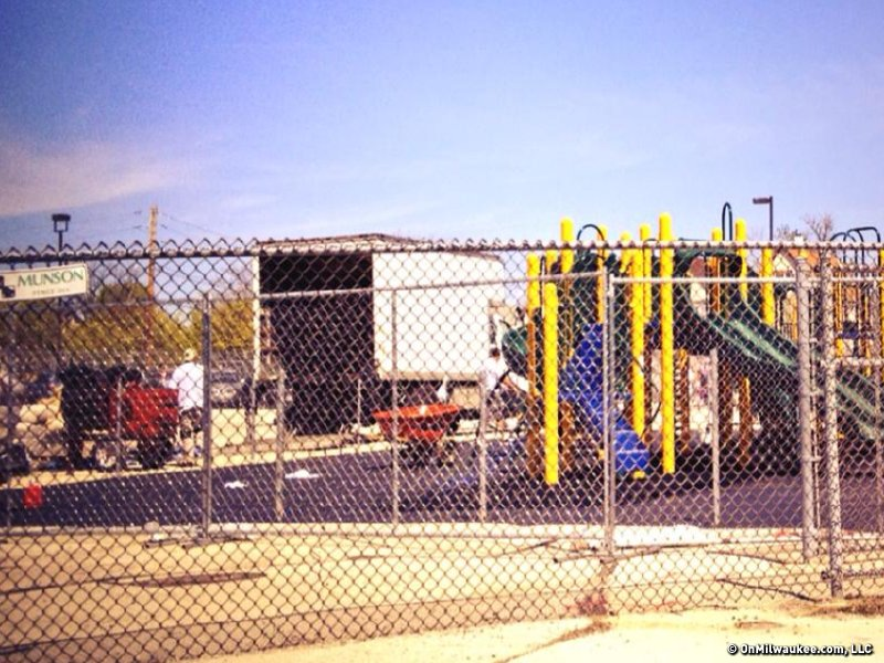 WCLL, near Marquette, is also getting a new playset this spring.