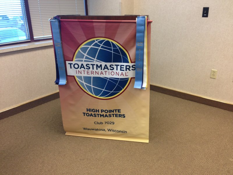 Lisa has noticed herself getting better at public speaking and communicating since she's joined Toastmasters.