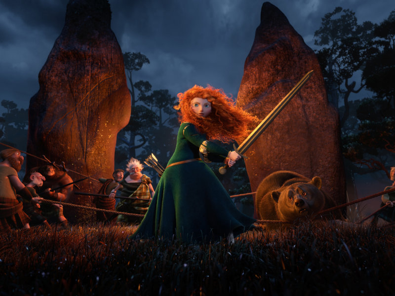 "Pixar's ""Brave"" is on its way to theaters Friday, but these five predecessors are already classics."