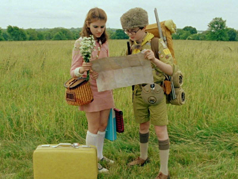 "The kids (Kara Hayward and Jared Gilman in particular) stole the show in ""Moonrise Kingdom."""