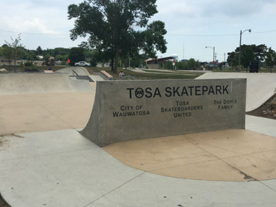 Relax or rip it at Tosa Skatepark