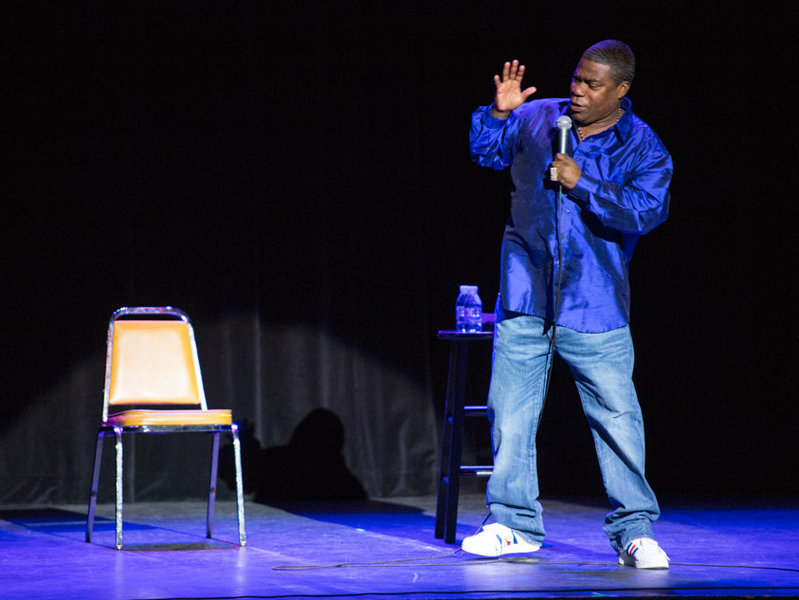 As a stand-up comedian, Tracy Morgan has gained a reputation as someone whose shows are fraught with controversy.