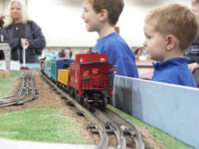 Trainfest 2009 delivers loads of kid-friendly fun