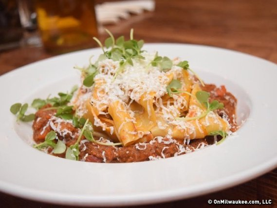 Pappardelle On The Patio? You Can Have Both At Lunch At Tre Rivali.