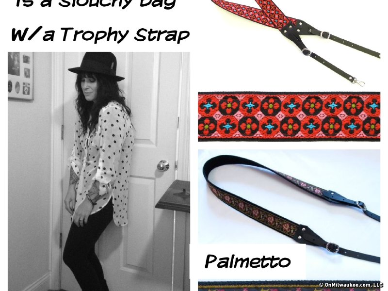 Lindsay loves Trophy Strap's boho look.