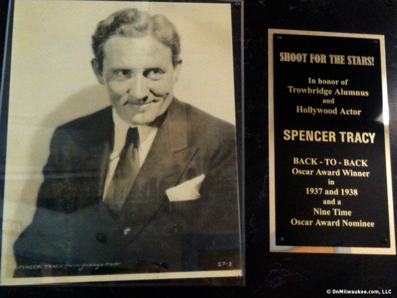 Hollywood Oscar-winner Spencer Tracy is likely Trowbridge's most famous alumnus.