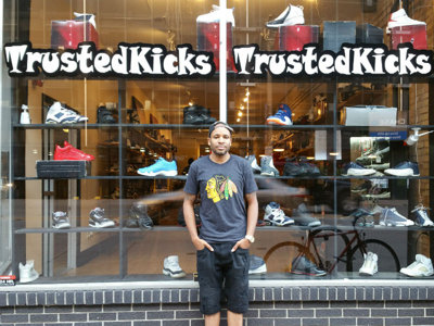 Trusted Kicks builds community one pair of shoes at a time