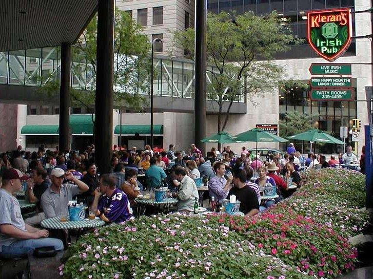 Many Downtown Minneapolis Bars, Like Kieranu0027s Irish Pub, Have Survived The  Minnesota Smoking Ban With Outdoor Patios.