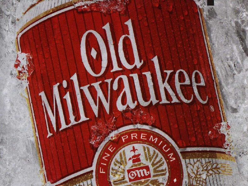 Old Milwaukee was a frequent TV advertiser 20 years ago.