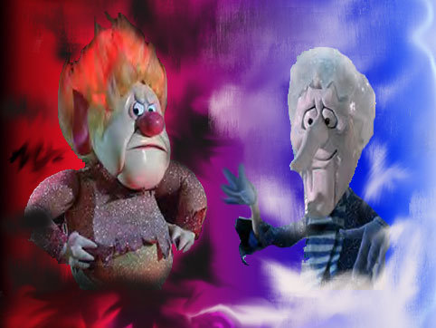 video of the day the age old battle of fire and ice - Old Animated Christmas Movies