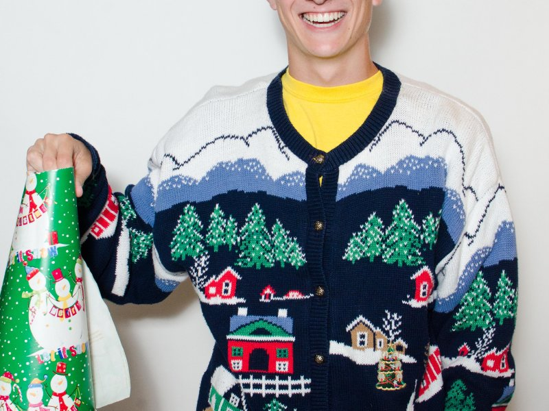 UltimateUglyChristmas.com offers the creme de la creme of tacky Christmas sweaters.
