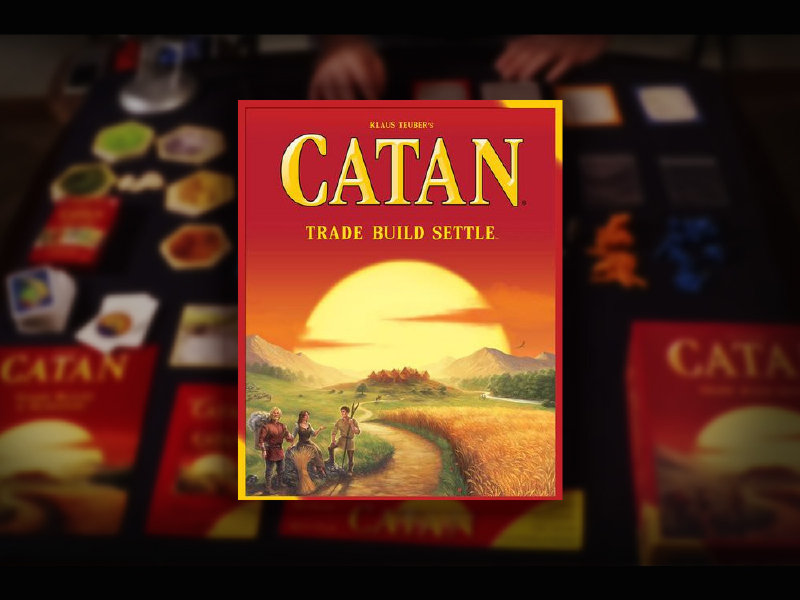 The only good part of having your 'Catan' games stolen? Unboxing the new ones Image