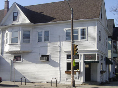The Uptowner tavern houses \