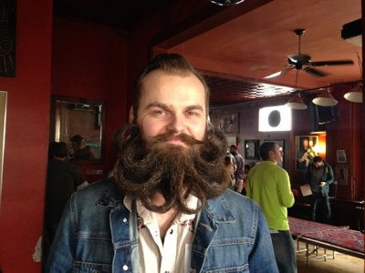 Whisker war: A night at Uptowner's third annual beard contest