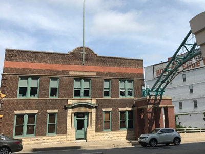 Urban Spelunking: MFD's former Third Ward fireboat station