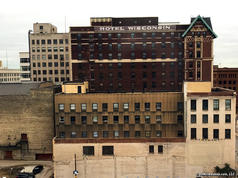 The Hotel Wisconsin Has Been Part Of Milwaukee Landscape Since 1913